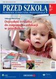 Dojrzałość dziecka trzyletniego do rozpoczęcia edukacji przedszkolnej